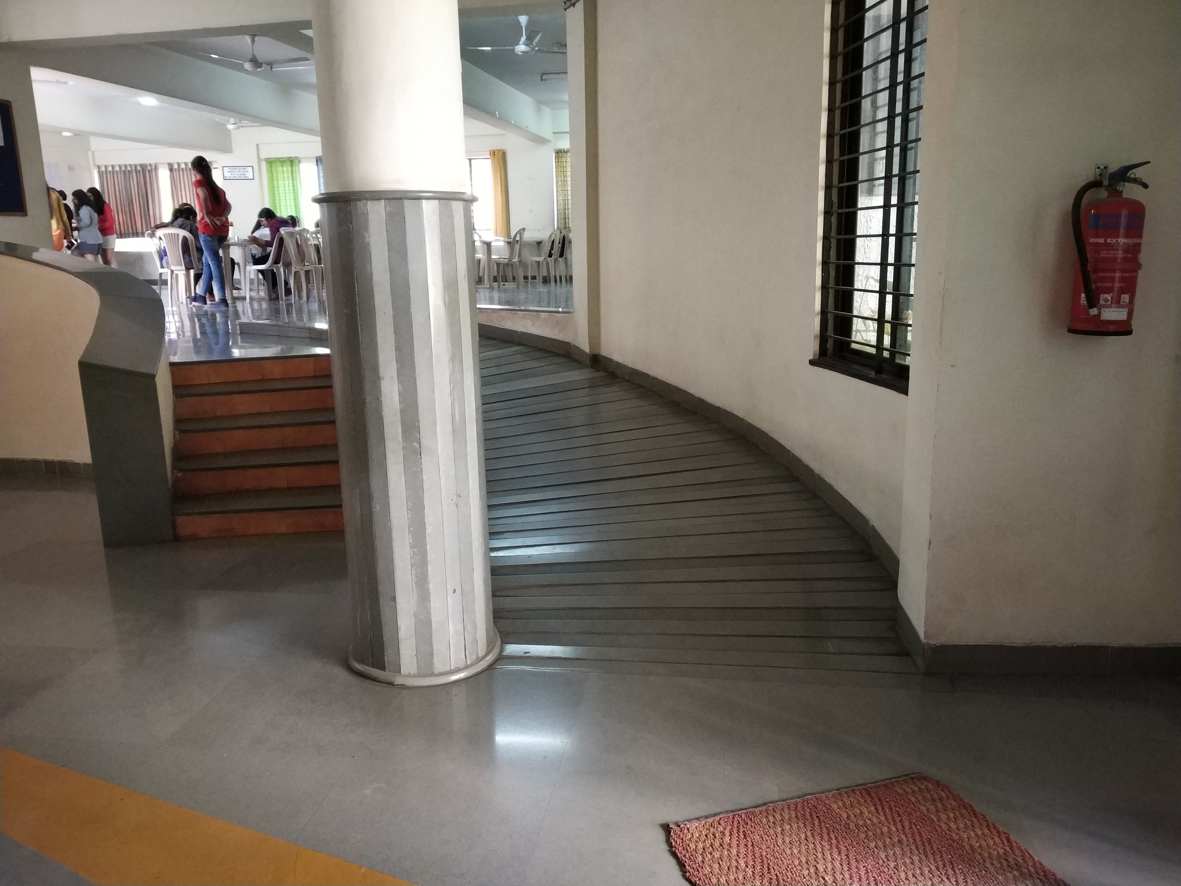 ILS LADIES HOSTEL INTERIOR  DISABLED FRIENDLY RAMP (2)