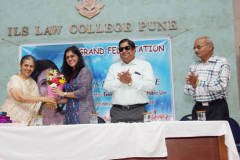 Felicitation of Ms.Parihar