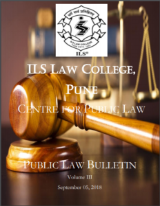 Public Law Bulletin Volume III