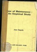 Law of Maintenance : An Empirical Study