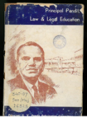 Principal Pandit, Law and Legal Education