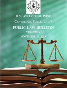 Public Law Bulletin Volume V