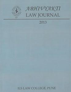 Abhivyakti Law Journal 2013