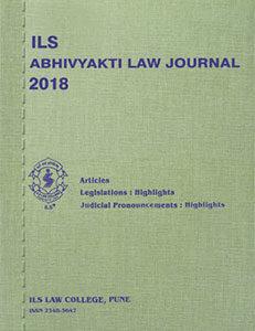 Abhivyakti Law Journal 2018
