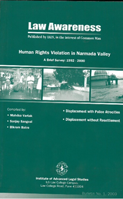 Human Rights Violation in the Narmada Valley