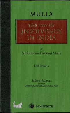 Mulla on The Law of Insolvency in India