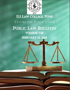 Public Law Bulletin Volume VIII