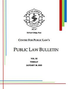 Public Law Bulletin Vol. XI