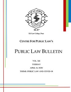 Public Law Bulletin Vol. XII