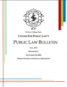 Public Law Bulletin Vol. XVI