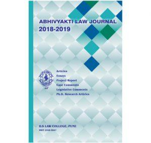 Abhivyakti Law Journal 2018-19