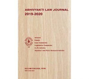 Abhivyakti Law Journal 2019 - 20