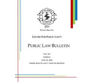 Public Law Bulletin Vol. XIV