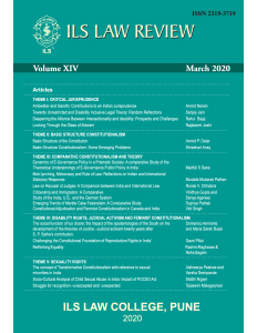 ILS Law Review Volume XIV